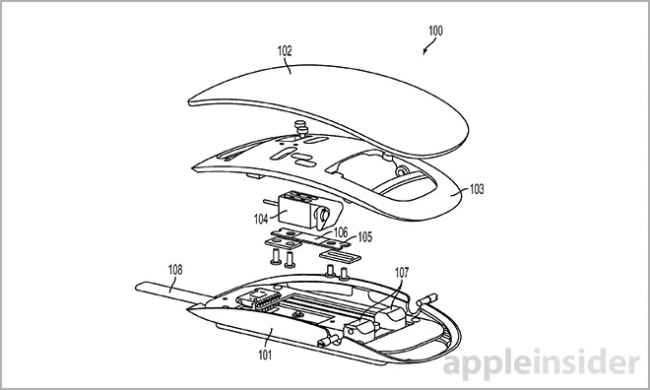 Esta patente nos muestra la posible renovación del Magic Mouse de Apple