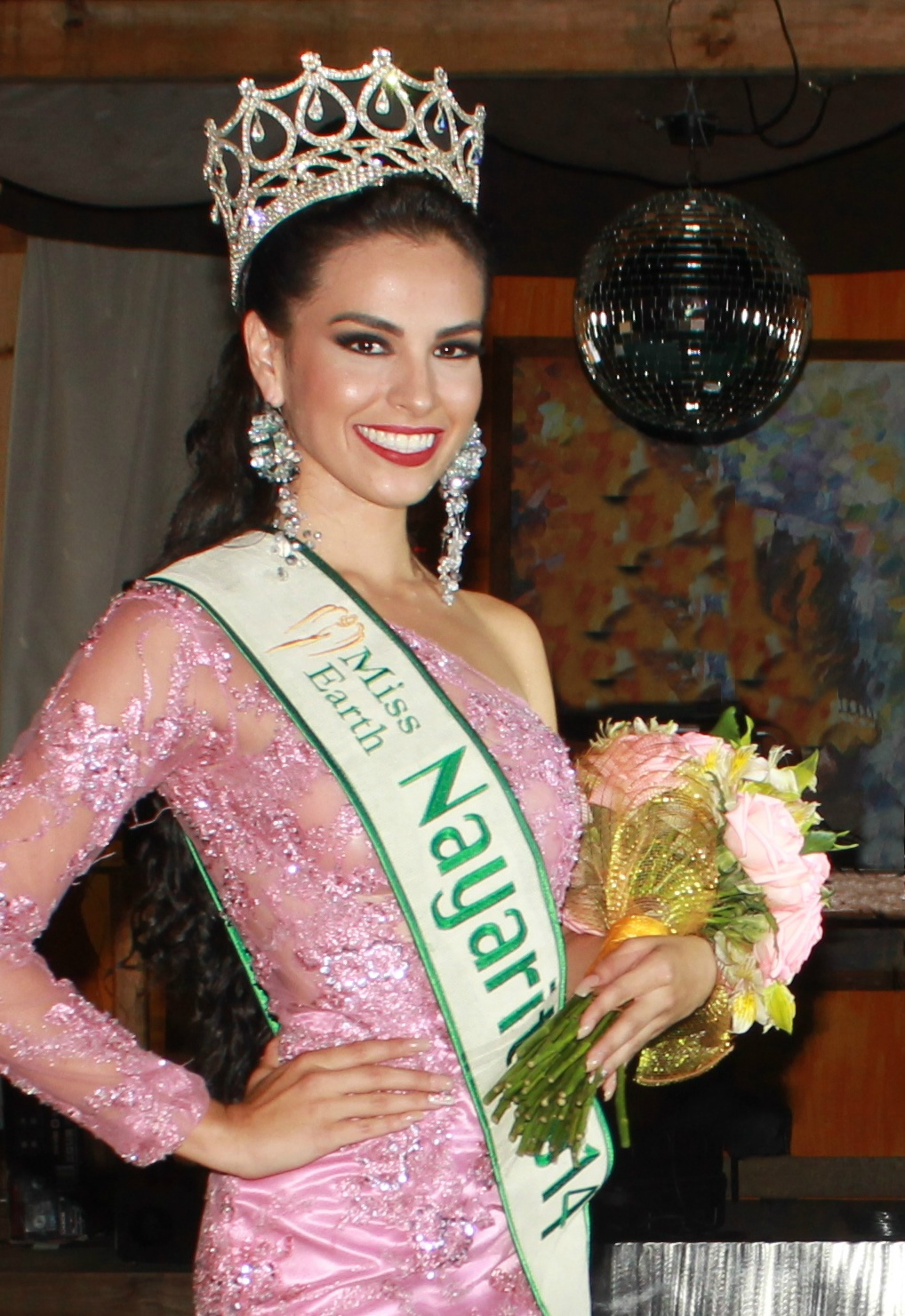 Miss Earth Nayarit 2014, Mónica Carrillo